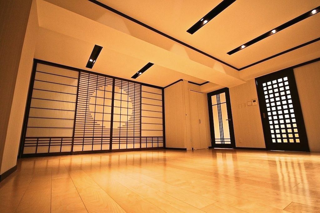 Arashiyama-1LDK-Living-Room