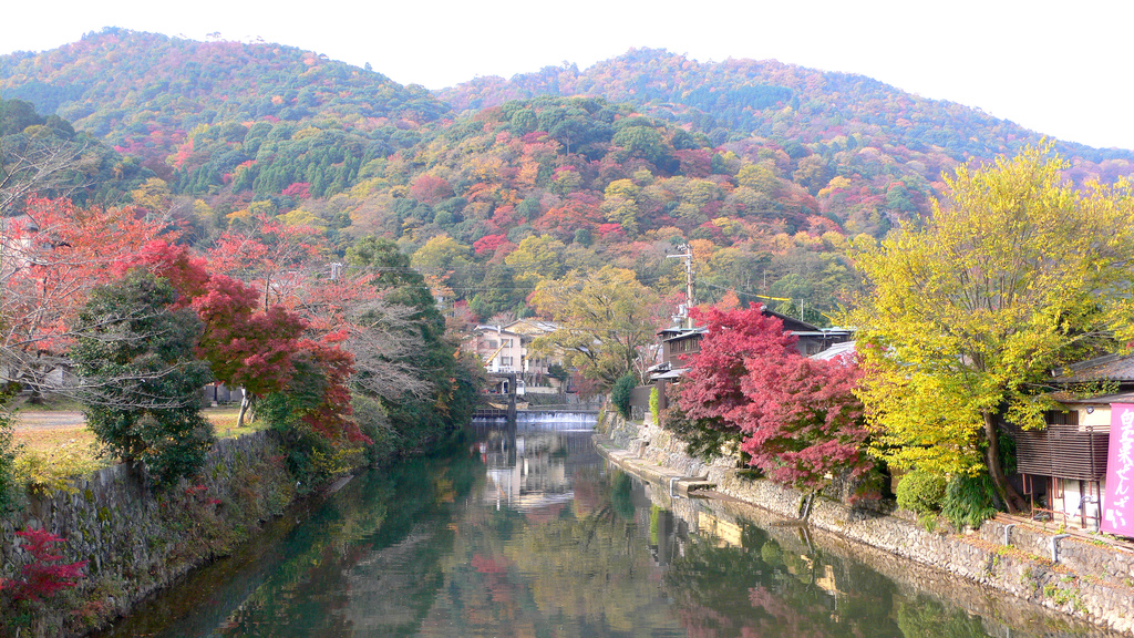 Arashiyama-Fall-Colors